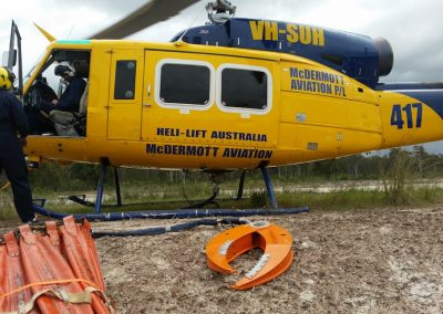 Bell 214 B - Grapple Hook