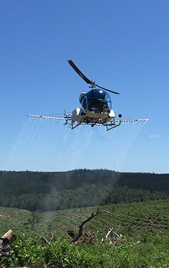 Bell 47 Aerial Application - Herbicide