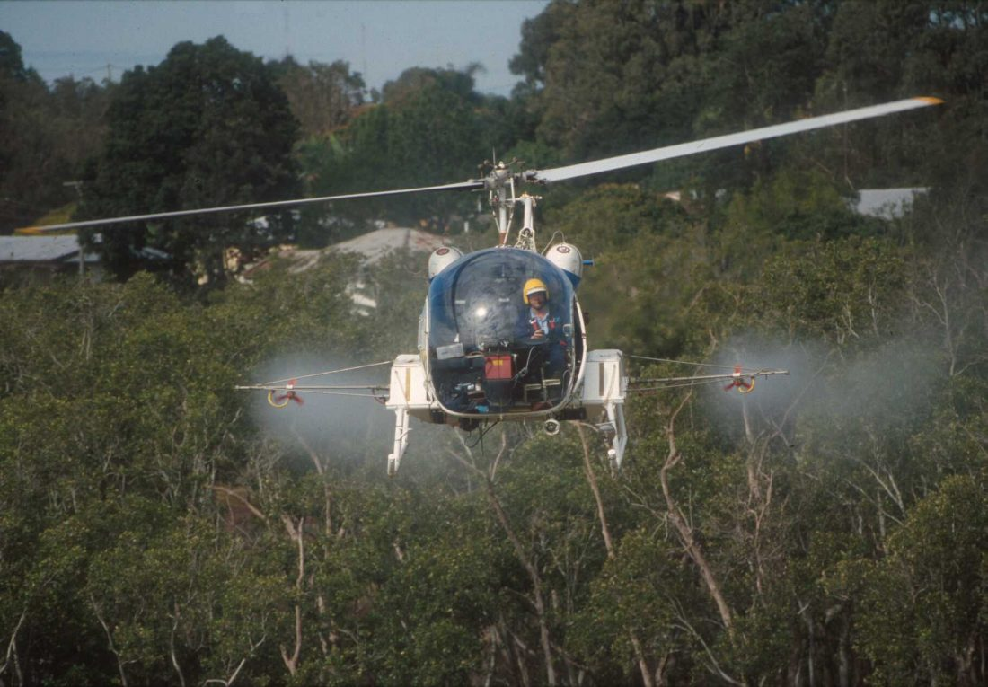 Bell 47 - Mosquito Control