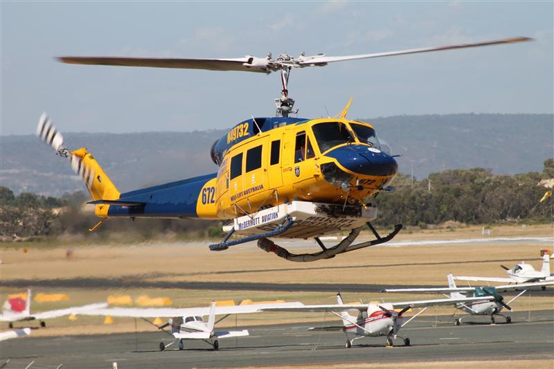 Bell 214 Fire ops.