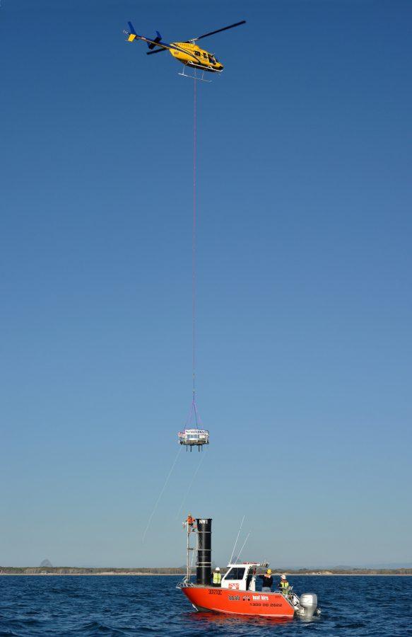 Bell 206L Heli-lift - Waterways