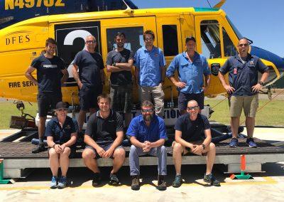 Bell 214 Fire Ops - Crew