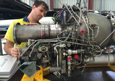 AS355 Twin Squirrel - Turbine Engine Inspection