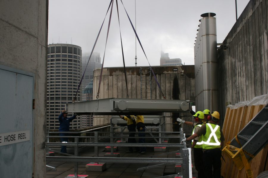 Air-conditioning Unit lift