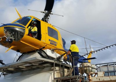 Aerial Application - Bell 204 Top Loading