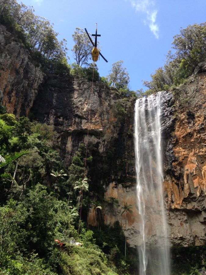 204 Heli-lift - Springbrook Falls