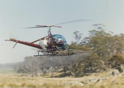 The Early Years - Aerial Application w/ Hiller