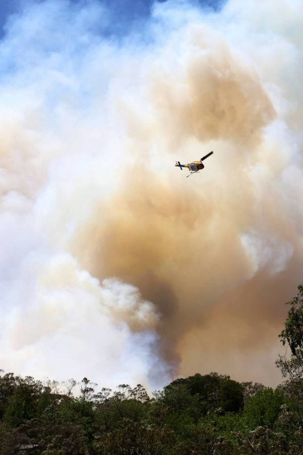 Bell 214 - Large bush fire