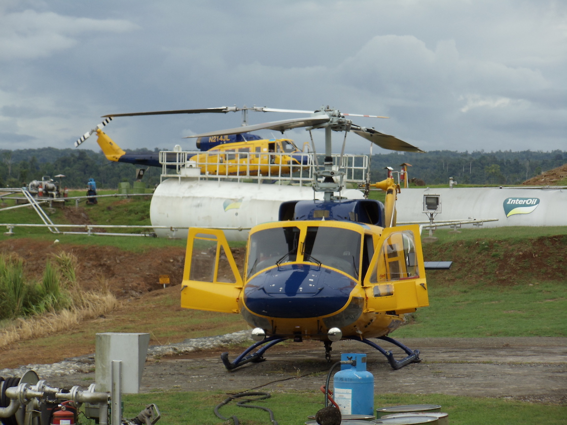 Bell 214 - PNG