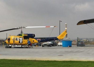 Bell 214 Engineers - Post flight