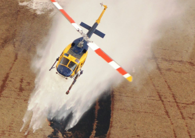 Bell 214 - Water Bombing