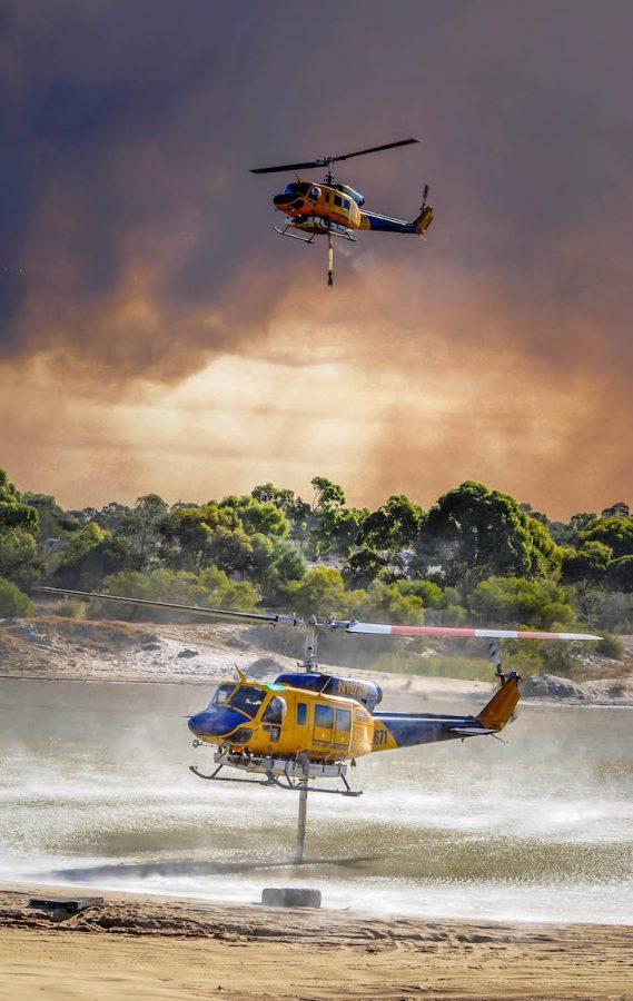 Bell 214 - Hover fill