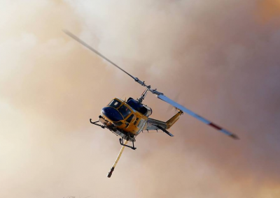 Bell 214 - Water Bombing Helicopter
