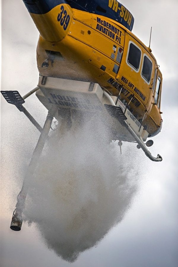 Bell 214 - Water Drop
