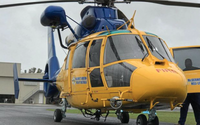 McDermott Aviation join search for six missing men