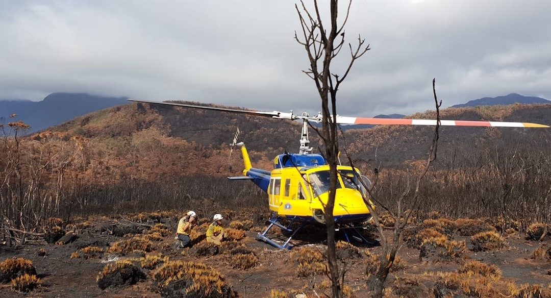Tasmanian Fire Season 2019